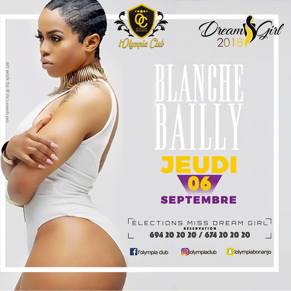 ELECTIONS MISS DREAM GIRL - BLANCHE BAILLY EN SPECTACLE LE  06 SEPTEMBRE 2018