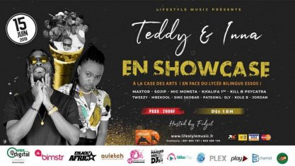 Teddy Doherty & Inna Money en Showcase à la Case des Arts le 15 Juin 2019