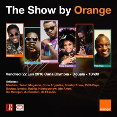 THE SHOW BY ORANGE - CONCERT FETE DE LA MUSIQUE LE 22 JUIN 2018