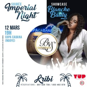 Blanche Bailly showcase BVS Expeerience
