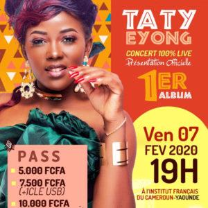affiche Taty Eyong concert live