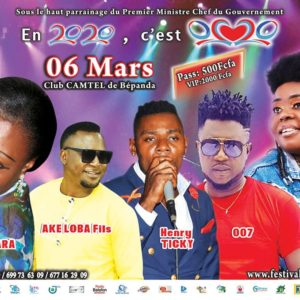 Affiche concert 6 mars Fomaric
