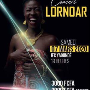 Lornoar concert IF Yaoundé MArs 2020