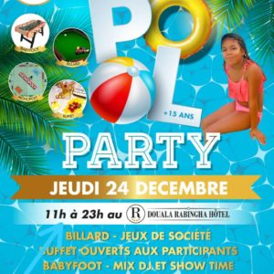 Pool Party Hôtel Rabingha