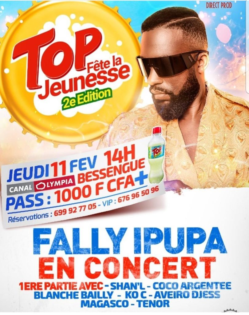Concert Fally Ipupa à Douala