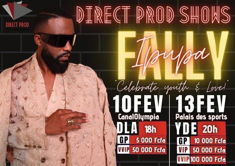 Fally Ipupa en Concert au Cameroun