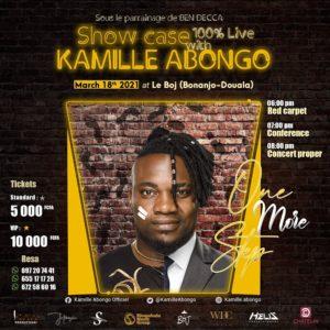Kamille Abongo Showcase 1er Album