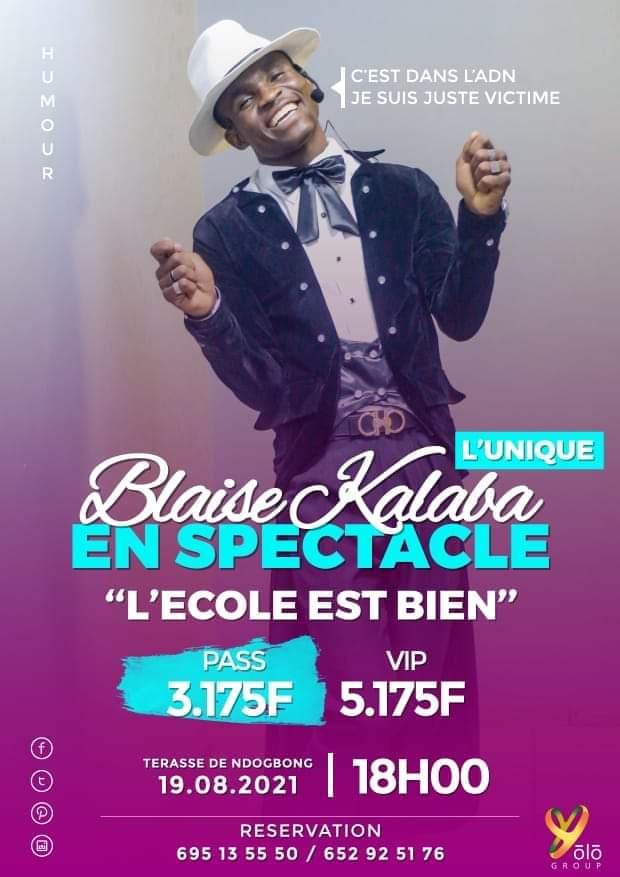 Blaise Kalaba en spectacle